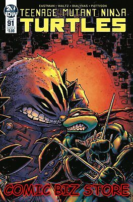 Teenage Mutant Ninja Turtles #91 (2019) Eastman Variant Cover B Tmnt Idw Comics