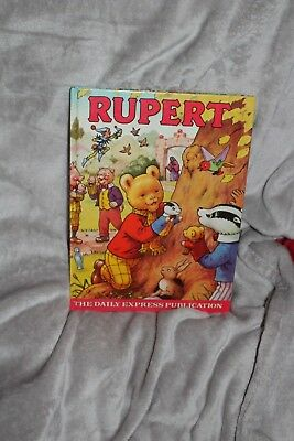 Signed 1980 Rupert Annual Fine Condition Near Mint