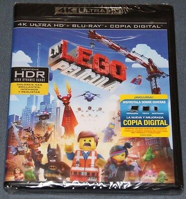 LA LEGO PELICULA - Bluray Blu ray  - 4K UHD - ULTRA HD
