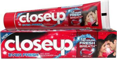 Closeup Ever Fresh Red Hot Gel Toothpaste Pack of 3 Pcs - 150Gm
