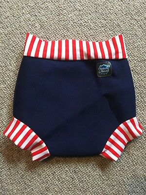 Happy Nappy Baby Swimming Nappy Medium Neoprene Navy