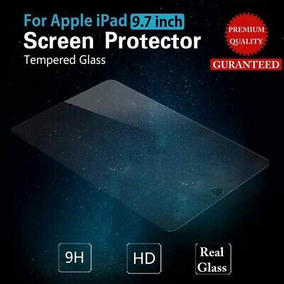 Tempered Glass Screen Protector for iPad 6th Gen 2018 A1893/A1954