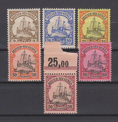 Deutsch-Neuguinea Lot aus Mi.7-15 **/*