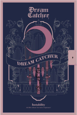 "K-POP DREAM CATCHER Mini Album ""The End of Nightmare"" [ 1 Photobook + 1 CD ] INS"