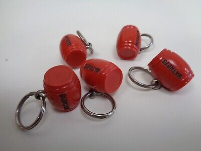 Vintage 1960s Watneys Red Barrel Keyring In Superb Condition (5 Available)