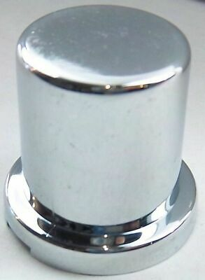 "nut covers(5) 3/4"" flat top hat chrome plastic 1-1/4"" tall Peterbilt Freightline"