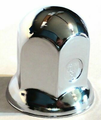 "nut covers(10) 1-1/8"" standard style flange chrome steel 1-5/8"" tall Peterbilt"