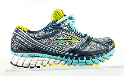 44dabff962b Brooks Womens Ghost 6 Running Shoes Size 6.5 M Blue Gray Athletic Training