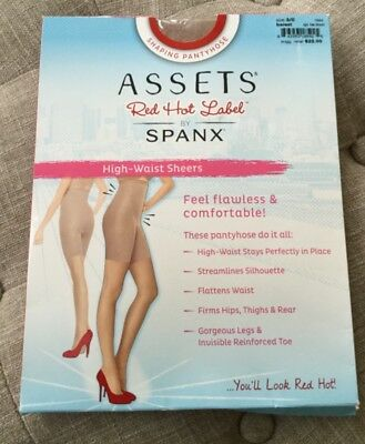 99653118eb5 Assets red hot label by Spanx high waist sheer hosiery size 3 C barest NEW