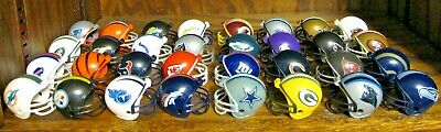 """NEW NFL Mini Helmets PICK FROM ALL 32 TEAMS 2"""" Gumball Collectible Football 2019"""