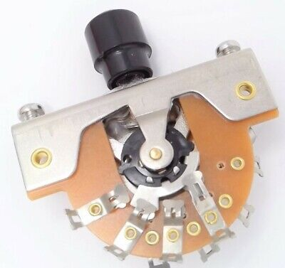 True Custom Shop® Vintage Style 3-Way Lever Switch with Spring for Fender Tele