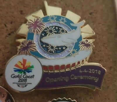 Migaloo Opening Ceremony - Gold Coast 2018 Commonwealth Games (Gc2018) Pin