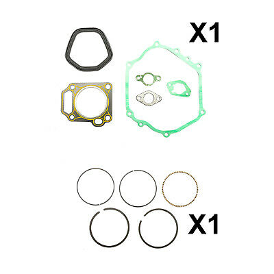 Non Original Jeu de Segments Piston + Ensemble Joint Complet Adapté à Honda