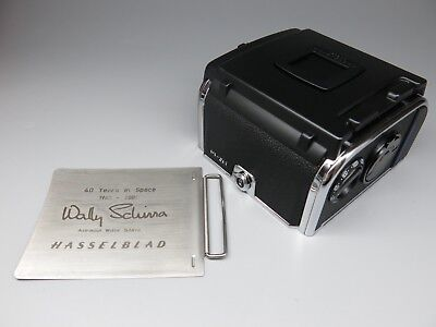 "Hasselblad E12 6x6 Magazine Film Back W/ ""40 Years In Space"" Dark Slide"