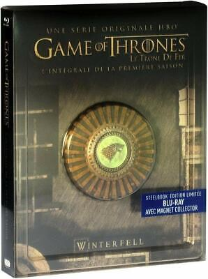 Game of Thrones Staffel 1 Steelbook + Magnet - Deutscher Ton - 5 Blu-ray Box NEU