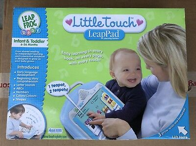 Leap Frog Baby Little Touch Leap Pad Infant & Toddler Learning to Read System