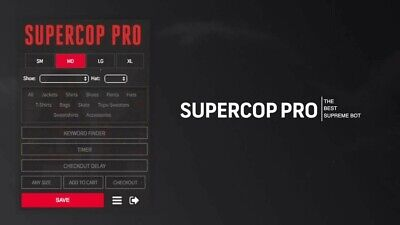 Supreme Super Cop Bot Pro | CHEAP | Instant Delivery| Will Set up |LIFETIME!|
