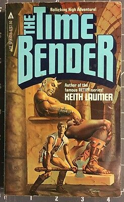 THE TIME BENDER  by Keith  Laumer 1st edition Ace 81013 Paperback Book