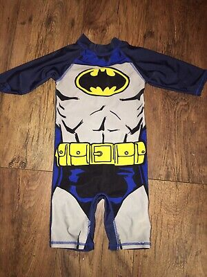 Batman Swimsuit 12-18 Months 1-1.5 Years