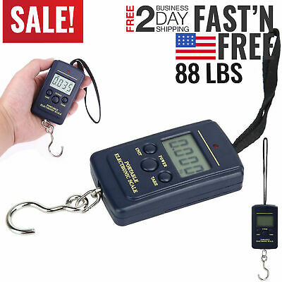 Fishing Scales Digital Fish Weight Scale Electronic Hanging Hook Portable