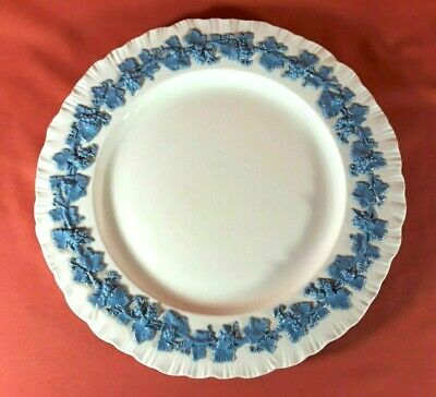 Wedgwood Queens Ware Lavender Blue on Cream Dinner Plate