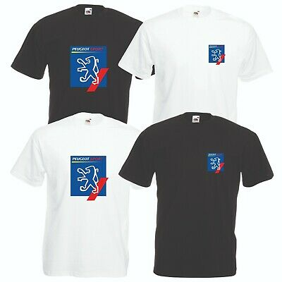 Peugeot Sport T-Shirt Car Enthusiast Rally VARIOUS SIZES & COLOURS