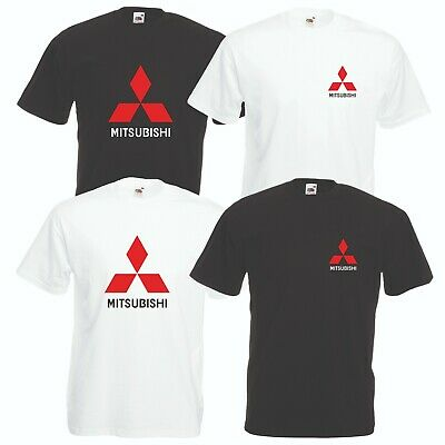 Mitsubishi T-Shirt Car Enthusiast Rally Lancer Evolution VARIOUS SIZES & COLOURS