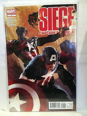 Siege Captain America #1 One-Shot VF/NM 1st Print Marvel Comics