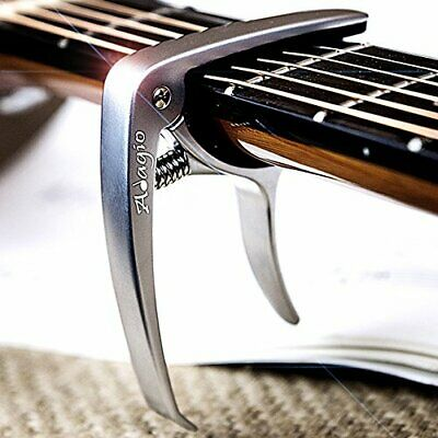 Adagio PRO DELUXE CAPO Suitable For Acoustic & Electric Guitars With Quick  NEW