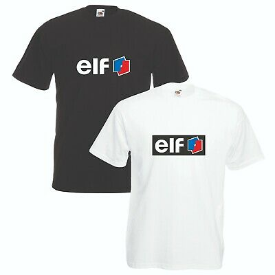 Elf Oil T-Shirt Classic Car Enthusiast F1 Rally VARIOUS SIZES & COLOURS