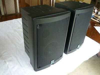 Peavey Impulse 652S 2-Way Speaker System (Pair, Black)