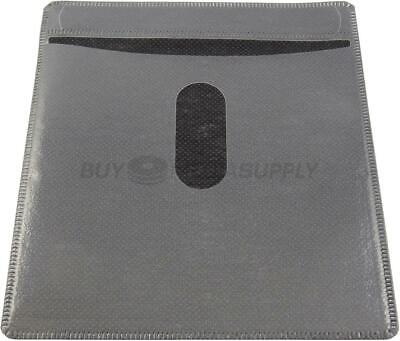 Non woven Black Color Plastic Sleeve CD/DVD Double-sided