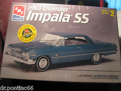 Amt 1963 Chevy Ss Impala 2Dr Hardtop Factory Sealed