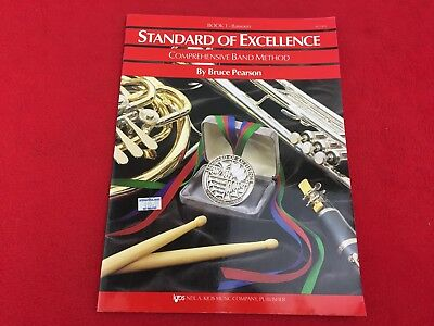 Standard of Excellence - Book 1 – Bassoon - W21BN - Bruce Pearson