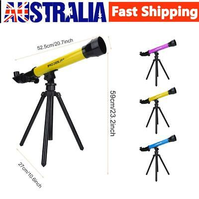 Children's HD Astronomical Telescope With Tripod Stargazing Educational Toy AU!
