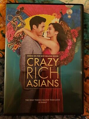 Crazy Rich Asians (DVD) used . Great condition. Viewed once.