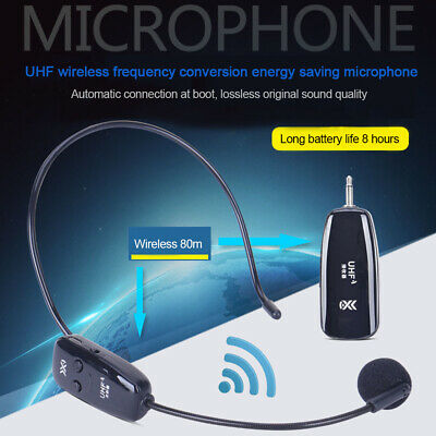 2.4G Wireless Microphone Lapel-Style Voice Amplifier MIC Receiver&Transmitter RM