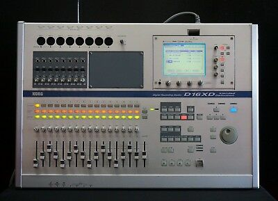 KORG D16XD Digital Recording Studio Xtended Definition Multitrack Recorder