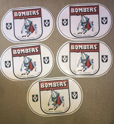 5 X Essendon Bombers VFL Placemats