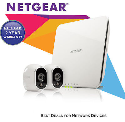 NETGEAR VMS3130 ARLO HD Dome Home Security System with Original Retail Package