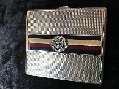Goldsmiths & Silversmiths Co Ltd Silver Cigarette Case Circa 1930 London