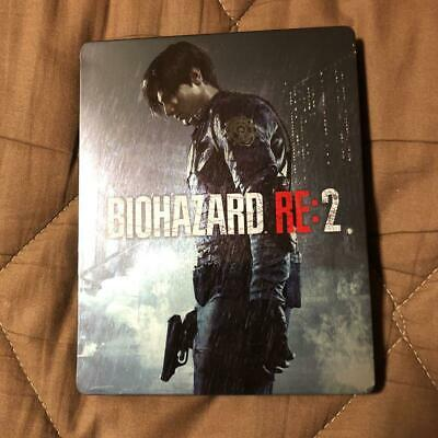 BIOHAZARD RE: 2 Steel book only Resident Evil GEO LIMITED PlayStation  Japan F/S