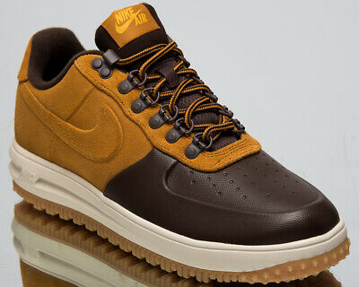 5fd3d4501b0f NIKE LUNAR FORCE 1 Duckboot Low New Men s Lifestyle Shoes Brown 2019  AA1125-201 -  118.75