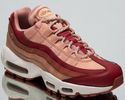 quality design 8adfc 105ea Nike Women s Air Max 95 OG New Lifestyle Shoes Team Crimson Sneakers 307960- 607