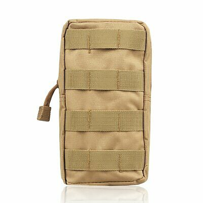 Tactical Molle Pouch Belt Waist Pack Military Fanny Utility Bag Phone Pocket AU