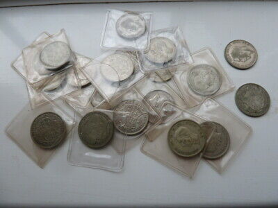 A collection of 19 British Half-Crowns . 1914 - 1944