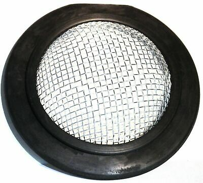 "rock guard round 7-1/2"" rubber and mesh for 359 Peterbilt Peter PB fog lights"