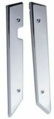 Windshield post cover(2)side plain stainless steel for Freightliner classic FLD.