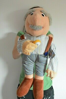 Original German Grandpa Ventriloquist Collector Dummy doll from Beleduc