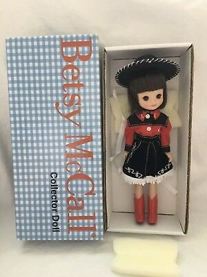 "MIB Betsy McCall 8"" Doll COWGIRL VISITS THE RANCH Robert Tonner"